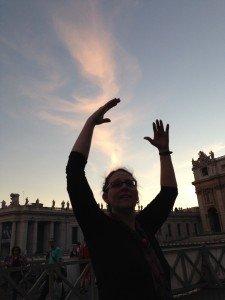 Gesture at Vatican